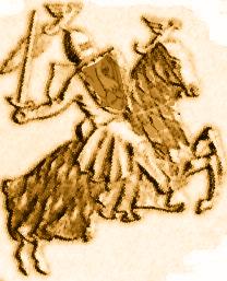 Münze Monacco gedreht-beige