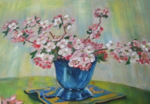 Apfelblütenvase